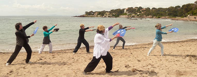 stage forme tai chi eventail